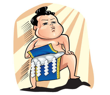 Gonishiki: Sumo by Internship Japan
